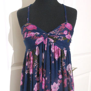 Free People Tops - FREE PEOPLE Mirage Floral Tunic Top XS NWT $88